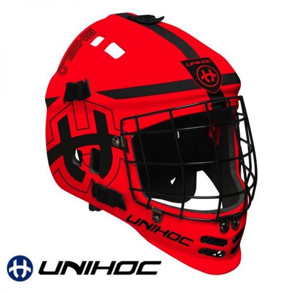 Unihoc SHIELD Maske rot