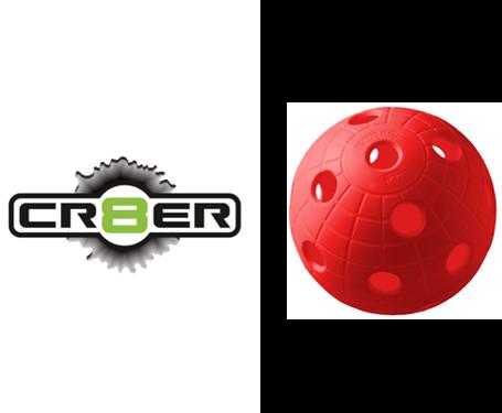 Offizieller WM-Floorball Reactor CR8TER rot