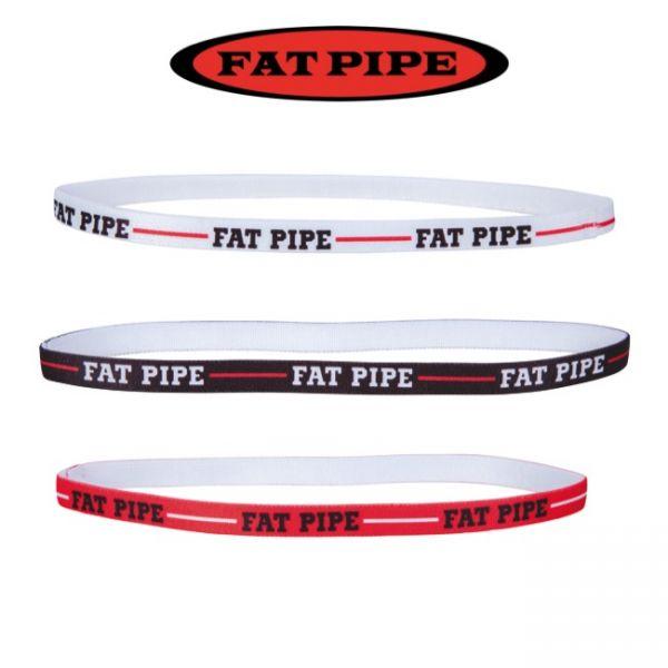 Fatpipe Haarband WILDER Schwarz/Rot/Weiß (3er Pack)