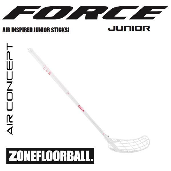 Zone FORCE AIR JR 35 weiß/rot