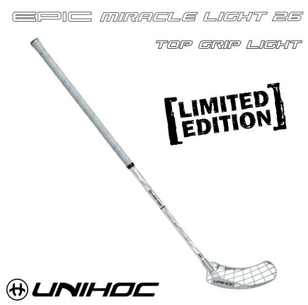 Floorball Schläger - Unihoc EPIC Miracle Light 26 silber