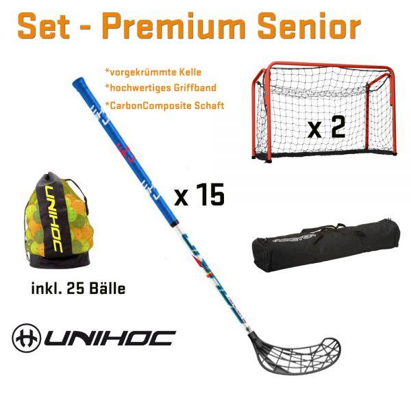 Floorball Set - Premium Senior