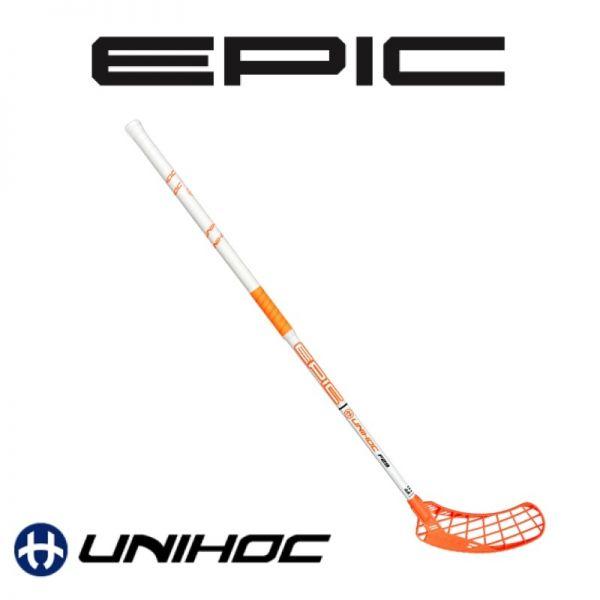 Unihoc EPIC 29 weiß / orange