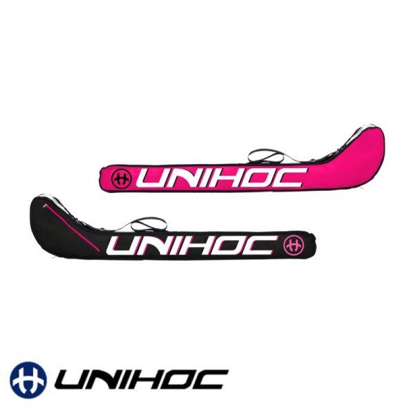 Unihoc Stickbag ULTRA Junior schwarz/pink