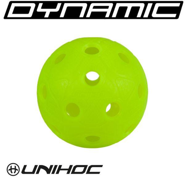 Dynamic WM Spielball in neon gelb
