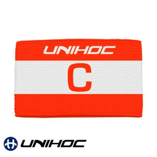 Unihoc Kapitänsbinde SKIPPER rot / weiß