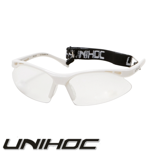Sportbrille Kid Unihoc EAGLE white