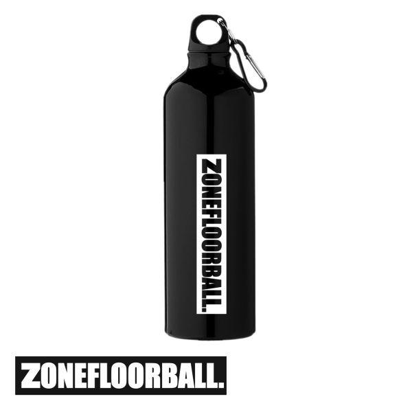 Zone Trinkflasche BADBOY schwarz (0,75L)