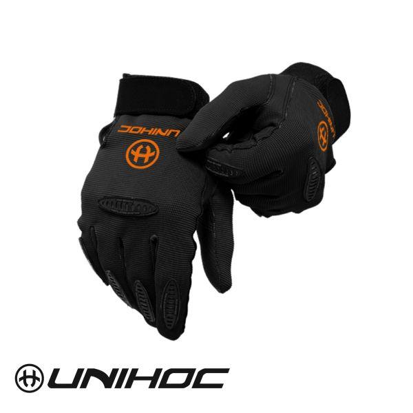 Unihoc Torwarthandschuhe PACKER schwarz