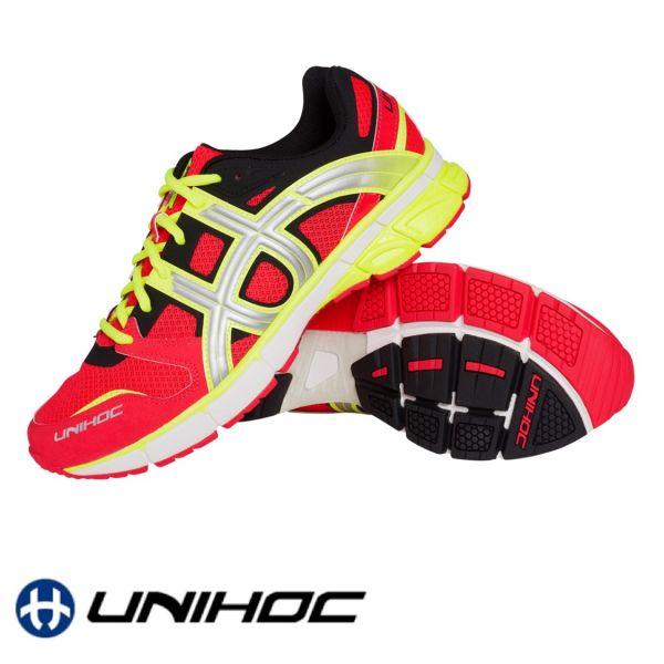 Unihoc Schuh U3 RUNNER TRX rot