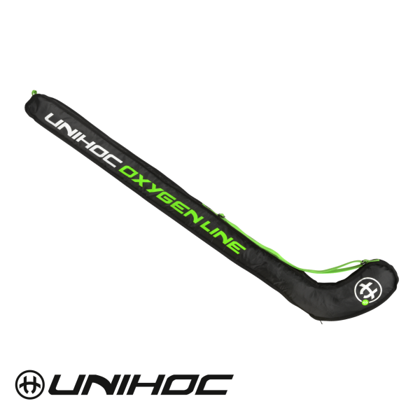 Unihoc Stickbag OXYGEN LINE SINGLE Schwarz/Grün