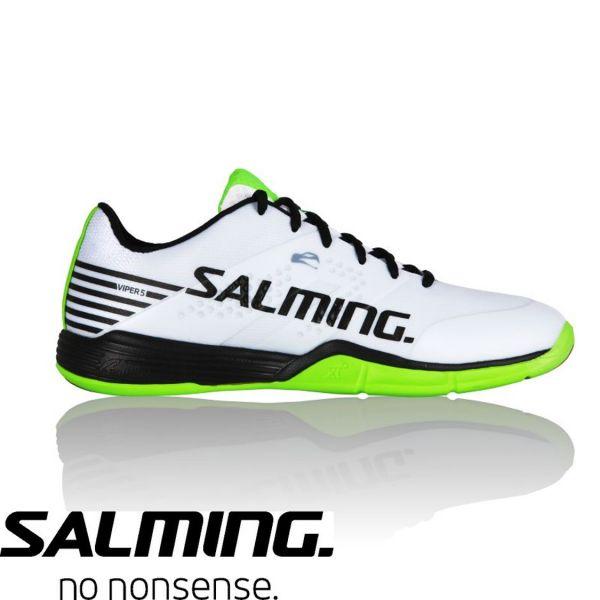 Salming Schuh VIPER 5 Weiß/Schwarz