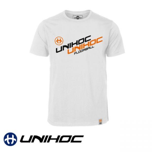 Unihoc T-Shirt ENIGMA weiß