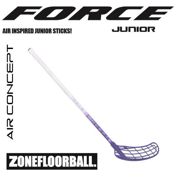 Zone FORCE AIR JR. 35 weiß/lila