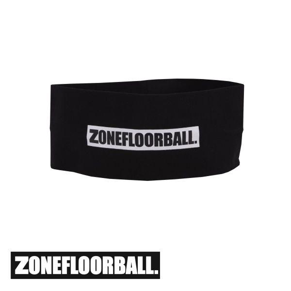 Zone Stirnband LOGO breit schwarz