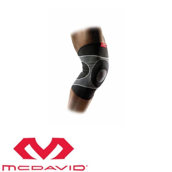MCDAVID Kniebandage mit Gel-Streben schwarz