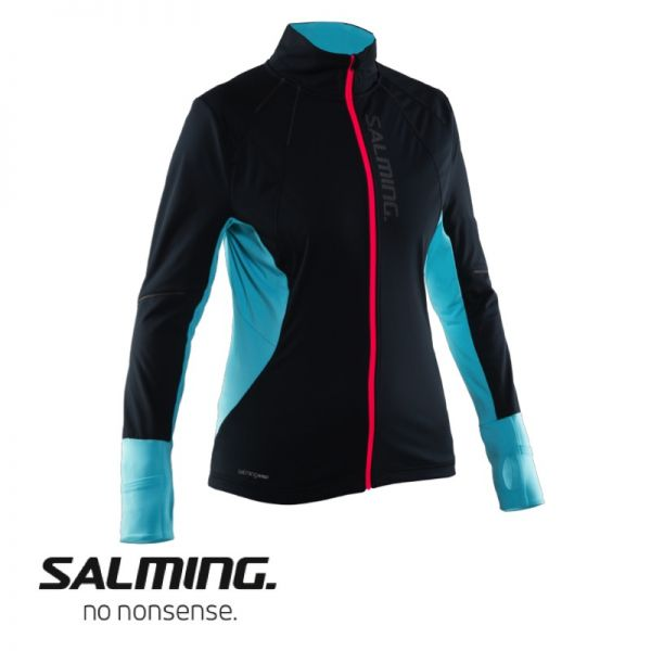 Salming Running Thermal Wind Jacke Women schwarz