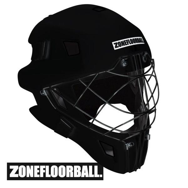 Zone MONSTER CAT EYE CAGE Maske komplett schwarz