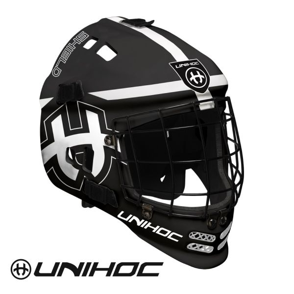 Unihoc SHIELD Maske schwarz