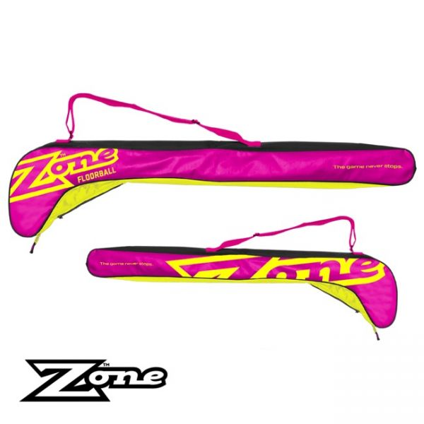 Zone Stickbag MEGA pink/gelb Junior