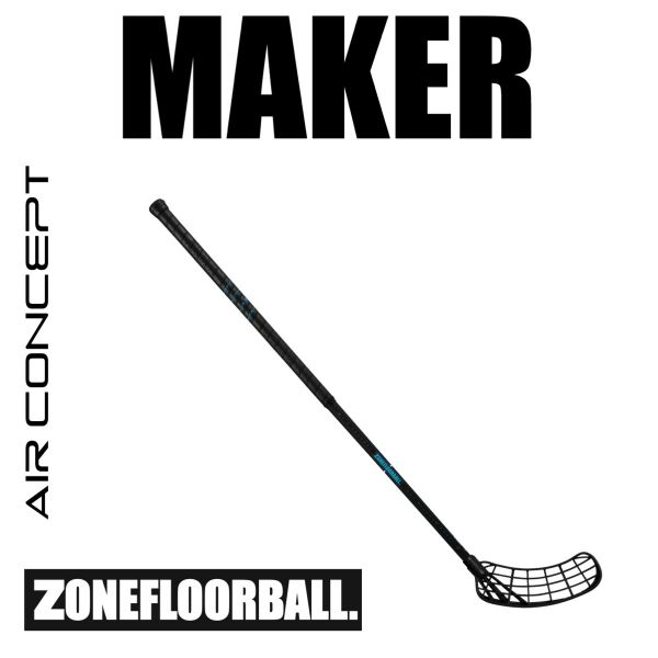 Zone MAKER AIR 29 schwarz türkis