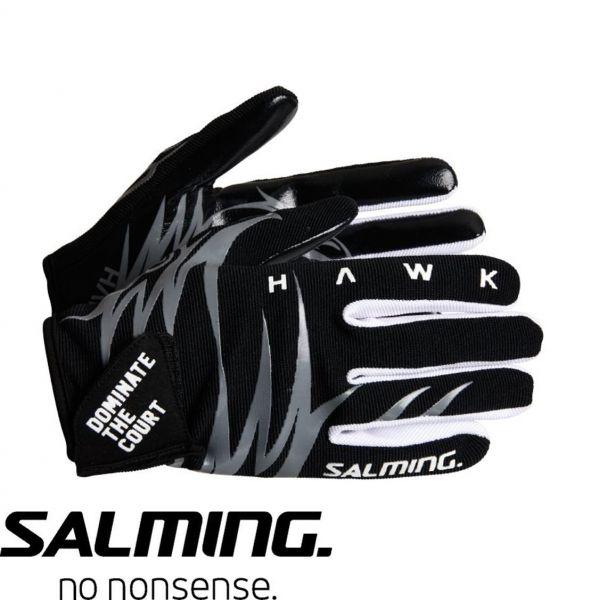 Salming Torwarthandschuhe HAWK schwarz