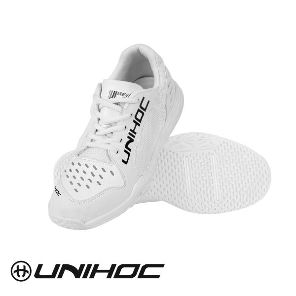 Floorball Schuh Unihoc U5 PRO JR. unisex weiß