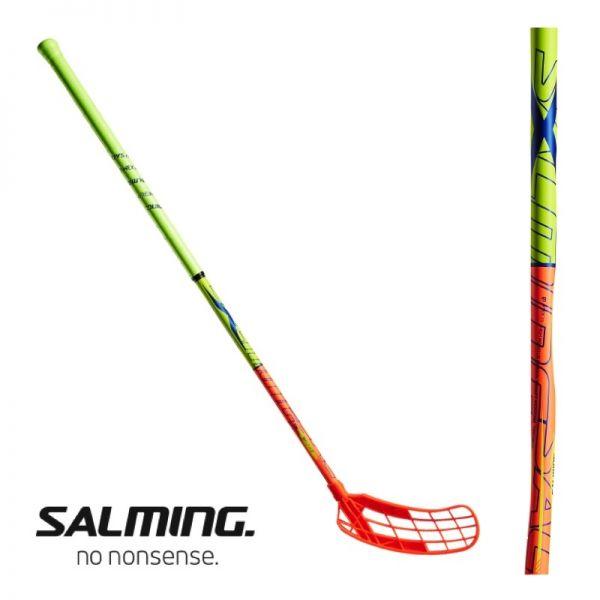 Salming QUEST 1 X-Shaft KickZone TipCurve 3.0° 27 Orange/Gelb