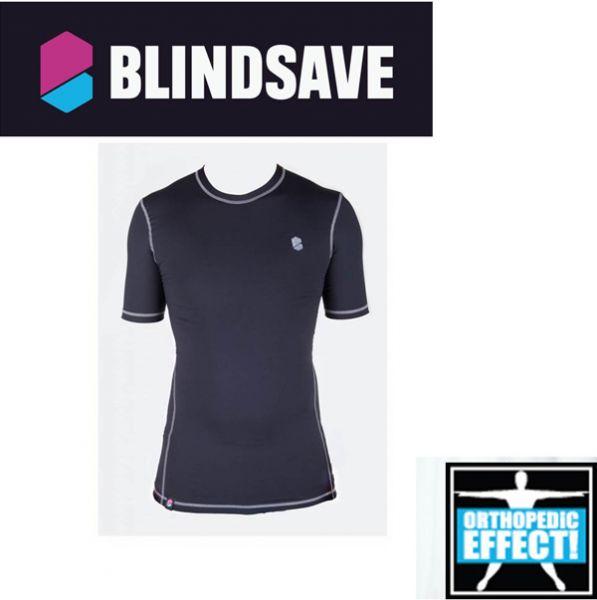 BLINDSAVE Compression Shirt Short Sleeve