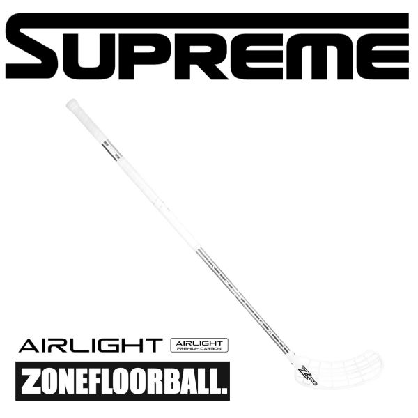 Zone SUPREME AIR Airlight 25 Weiß/Chrome
