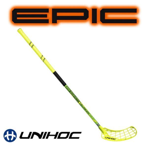 Unihoc EPIC 32 neon gelb
