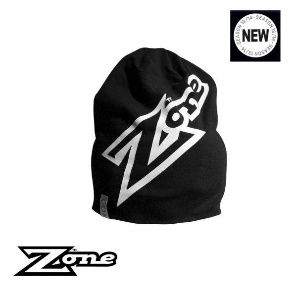 Zone Beanie MEGA schwarz/weiß