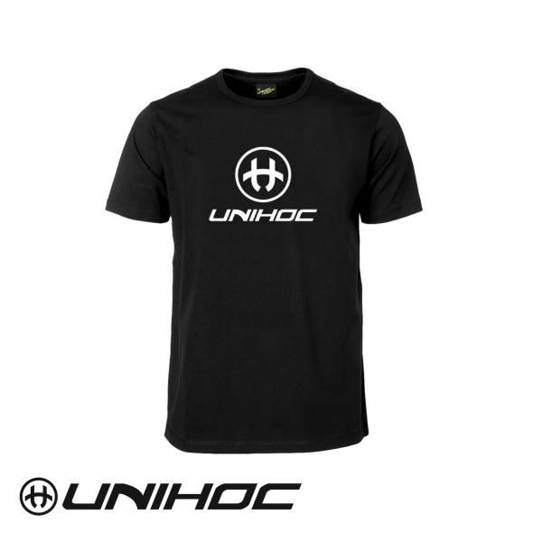 Unihoc T-Shirt STORM Schwarz