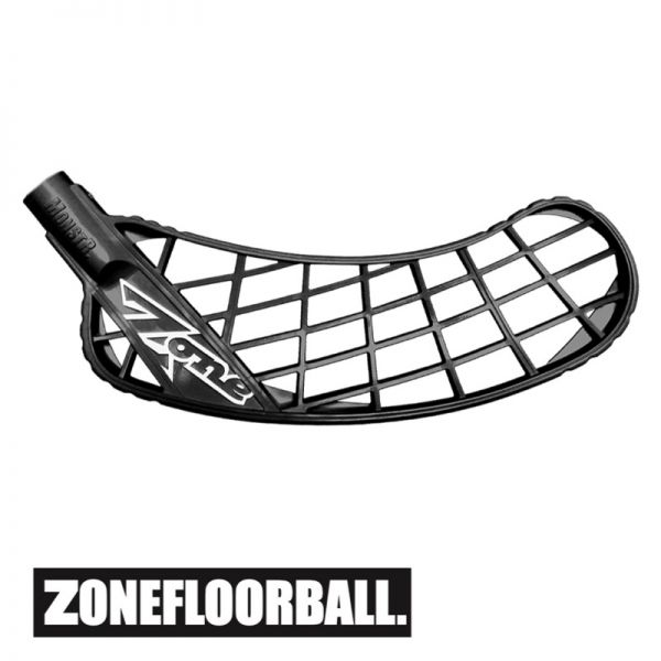 Floorballe Kelle - Zone MONSTR Medium+ schwarz