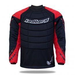 Jadberg TW-Pullover DEFENDER schwarz/rot (Abb. ähnlich)