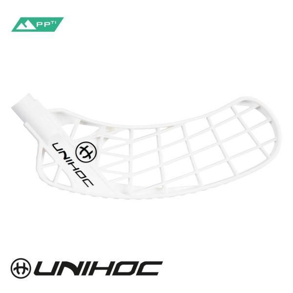 Unihoc ICONIC Titan Hart weiß