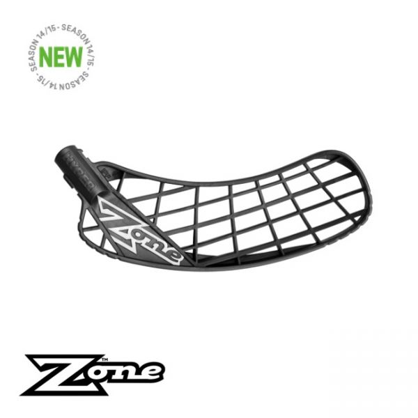 Floorball Kelle - Zone HYPER Medium schwarz