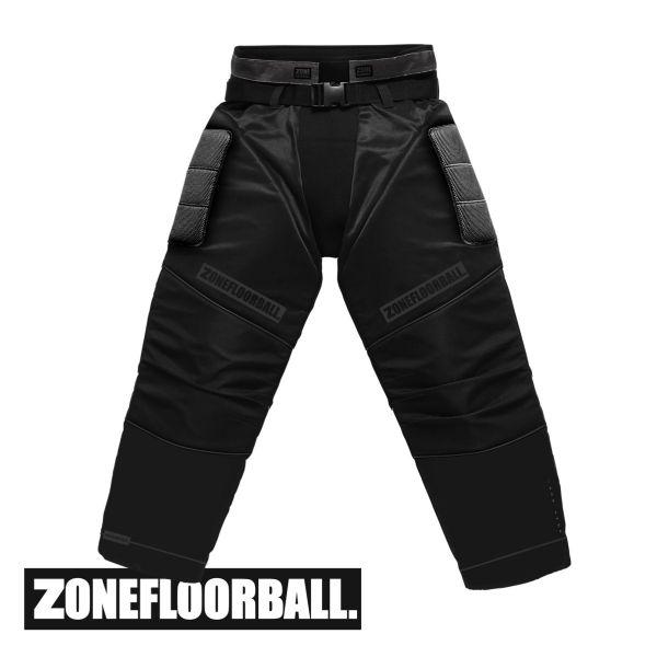 Floorball Torhüter - Zone Helm MONSTER2 schwarz