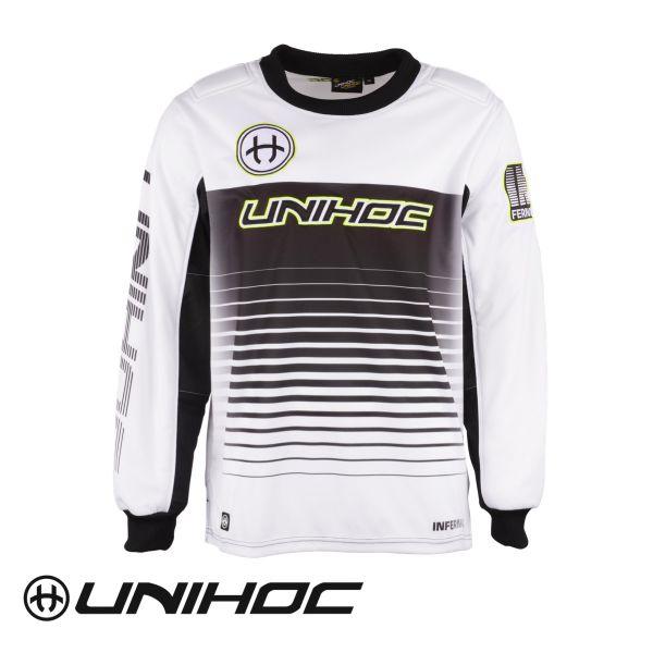 Unihoc INFERNO TW-Pullover weiß/schwarz