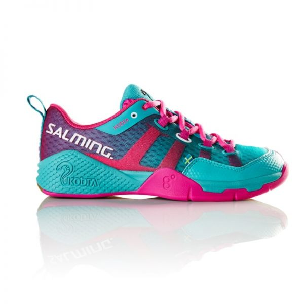 Salming Schuh KOBRA Damen türkis/pink