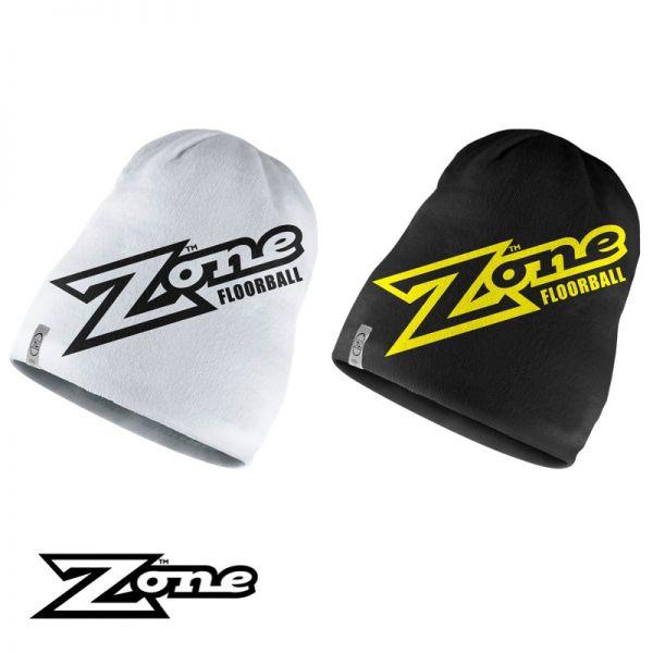 Zone Beanie HARDCORE schwarz/weiß