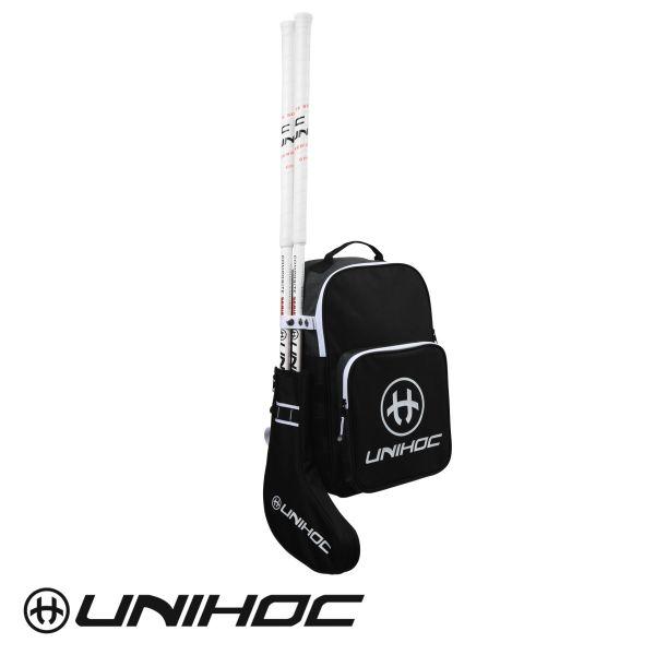Unihoc Rucksack Stickbag TACTIC Senior schwarz/weiß