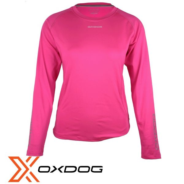 Oxdog Funktionshirt TECH LADIES Long Sleeve pink