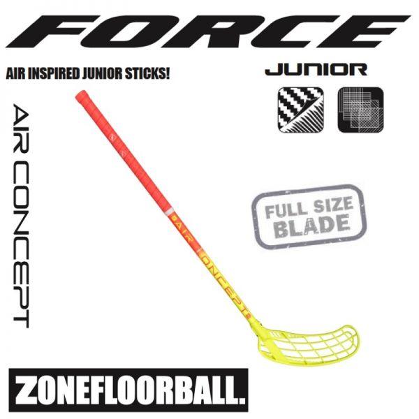Zone FORCE AIR JR. 35 coral/gelb
