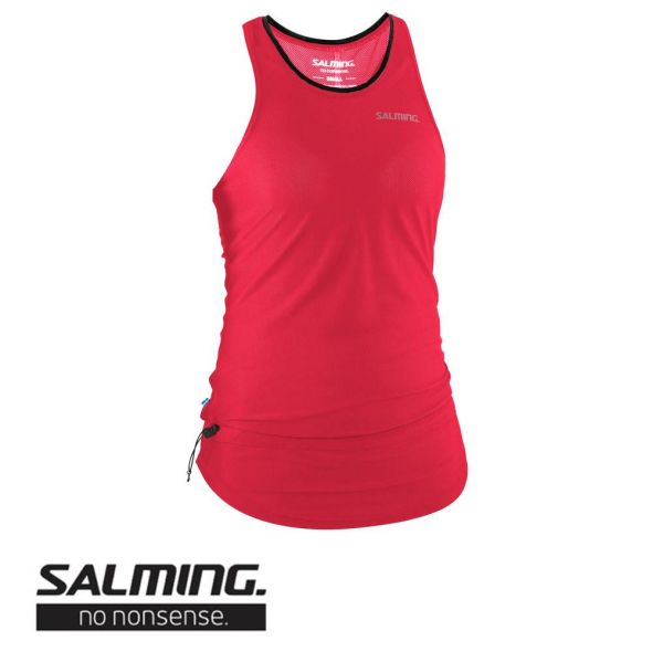 Salming Running Racerback Top Women coral - vorne