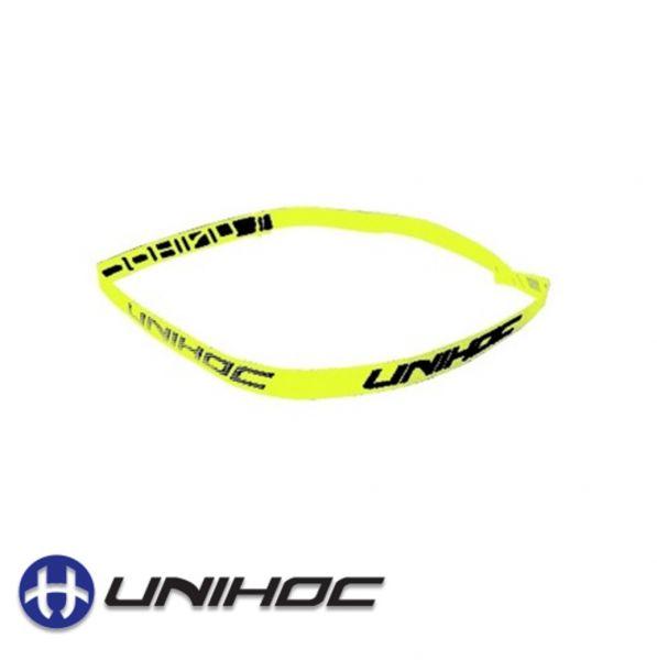 Unihoc Haarband neon gelb