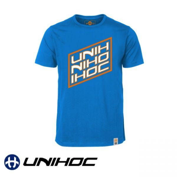Unihoc T-Shirt VOODOO blau