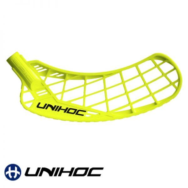 Unihoc EPIC FeatherLight Medium neon gelb