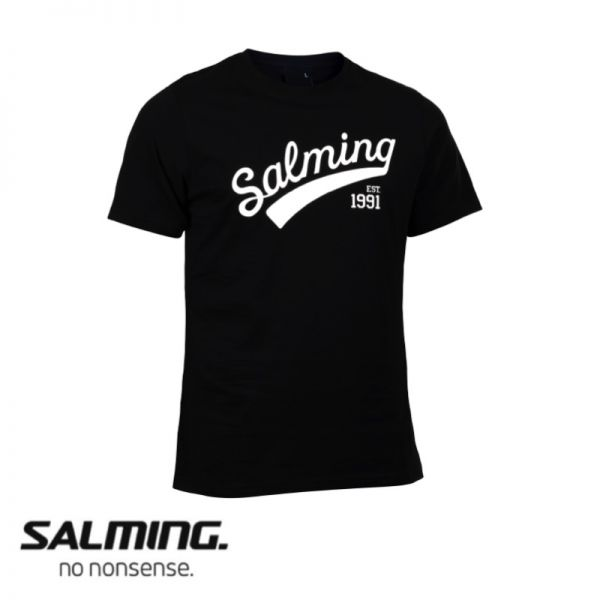 Salming T-Shirt LOGO TEE Schwarz