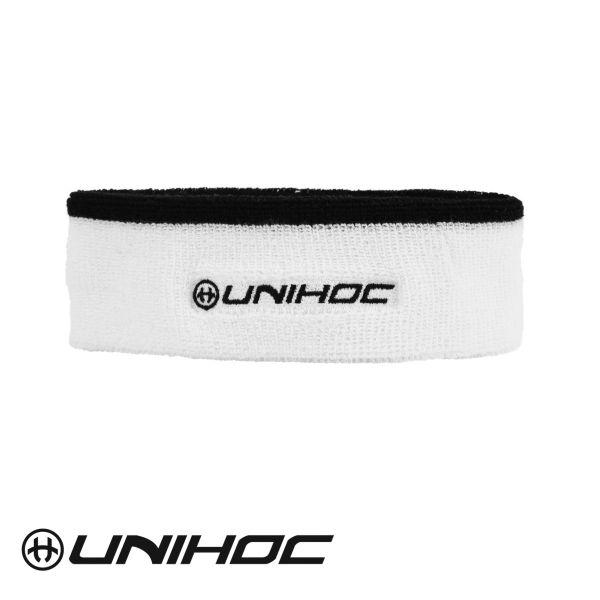 Unihoc Stirnband SWEAT Mid weiß